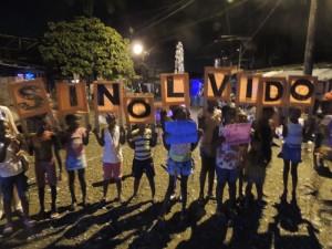 Espacio Humanitario Puente Nayero Celebrando el 8º mes (Diciembre 2014-Enero 2015)